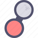 blush, cosmetic, makeup, mirror icon
