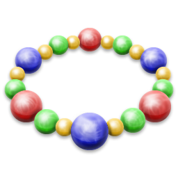 bracelet, jewellery, necklace icon