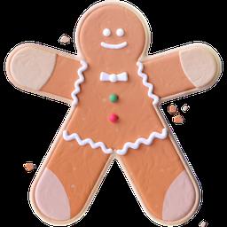 gingerbread, cookie, gingerbread man, christmas, mongo