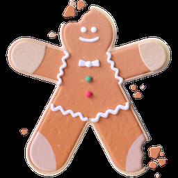 gingerbread, cookie, christmas, gingerbread man