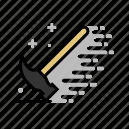 hammer, nail fixer, tools, wood icon