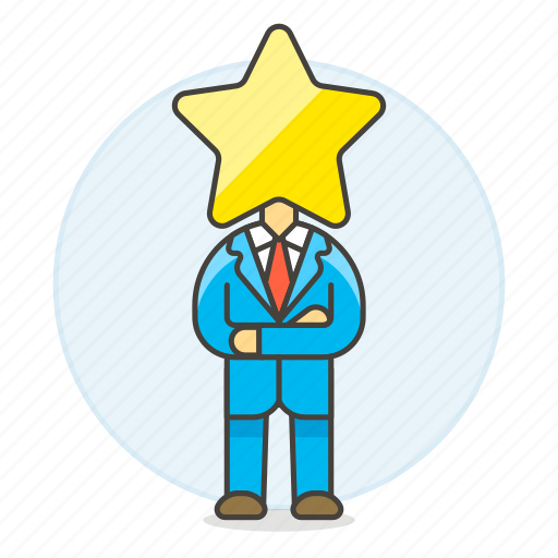 2, boss, ceo, head, hiring, human, leader, male, manager, resources, star, work icon