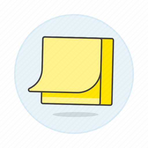 blank, it, note, notepad, paper, post, sheet, stack, work icon