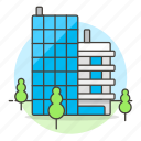 building, department, edifice, facility, office, place, work icon