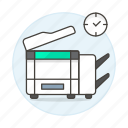 copy, machine, office, photocopy, supplies, work icon