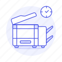 copy, machine, office, supplies, work, photocopy icon