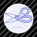 1, craft, office, scissors, supplies, work icon