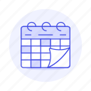 activity, calendar, organize, plan, schedule, timetable, work