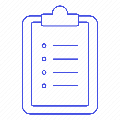 bullet, clipboard, do, list, point, task, things, to, work icon