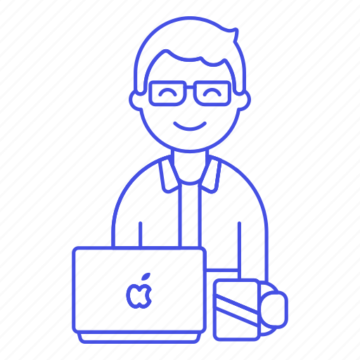Coffee, desk, employee, freelance, half, home, job icon - Download on Iconfinder
