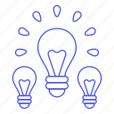 bulb, down, idea, ideas, light, lightbulb, off, on, turn, up, work