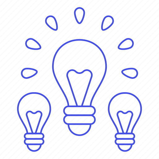 bulb, down, idea, ideas, light, lightbulb, off, on, turn, up, work icon