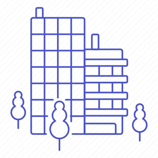 Building, department, edifice, facility, office, place, work icon - Download on Iconfinder