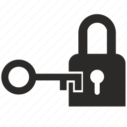 door, key, open icon