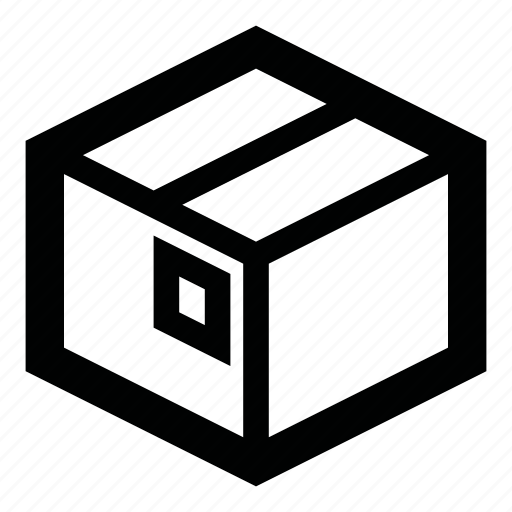 box, bundle, delivery, package, parcel, post, stock icon