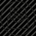 envelope, letter, mail, paper