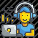 audio, device, earbuds, earphone, headphone, multimedia, sound icon