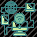 client, computer, data, internet, management, network, server