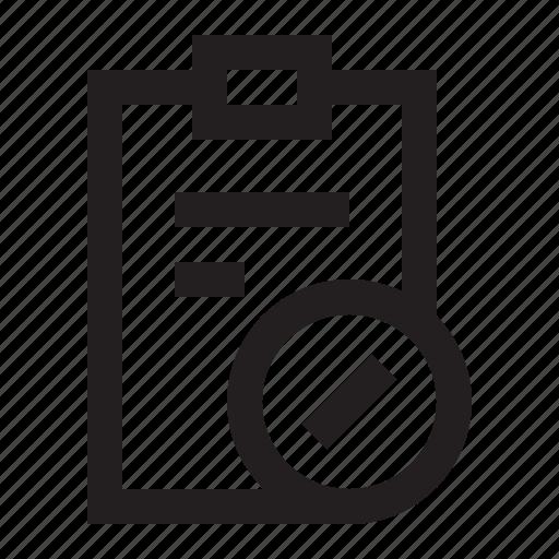 Checklist, edit, note, task icon - Download on Iconfinder