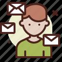 coronavirus, covid19, health, mails, quarantine, sars icon