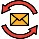communication, conversation, email, envelope, letter, mail, message