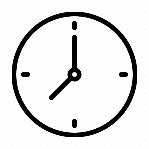business, clock, job, office, productivity, time, work icon