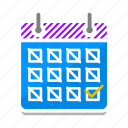calendar, date, deadline, event, planner, schedule, time icon