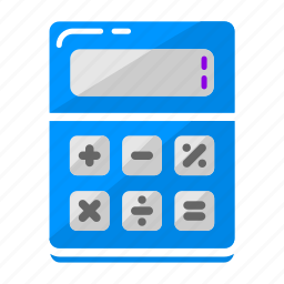 accountant, accounting, calculation, calculator, finance, math, operations icon
