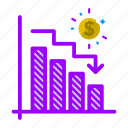 analytics, business, chart, finance, metrics, sales, statistics icon