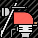 bigbike, motorbike, workday icon