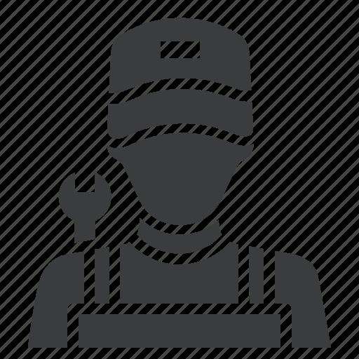 avatar, character, labor, mechanic icon