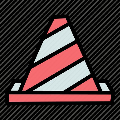 cone, construction, labor, site icon
