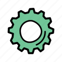 cog, gear, labor, settings