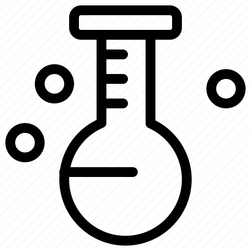 flask, lab, medical, tube icon