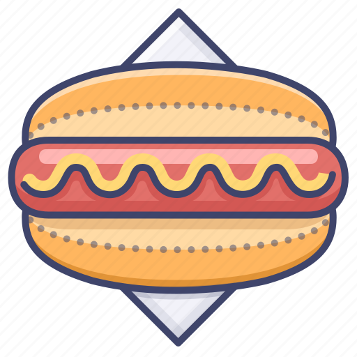 hotdog, sausage, snack icon