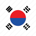 asean, asia, country, flags, flaq, korea, national icon