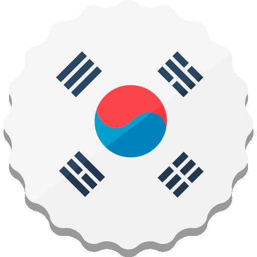 korea, south korea icon