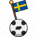 ball, cup, flag, football, soccer, sweden, world icon