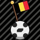 ball, belgium, cup, flag, football, soccer, world icon