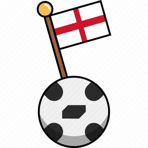 ball, cup, england, flag, football, soccer, world icon