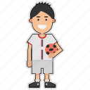 cup, football, player, serbia, soccer, sticker, world icon