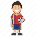 cup, football, player, soccer, spain, sticker, world icon