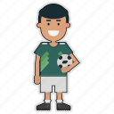 cup, football, mexico, player, soccer, sticker, world
