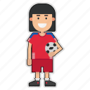 cup, football, panama, player, soccer, sticker, world icon