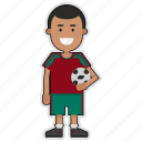 cup, football, morocco, player, soccer, sticker, world icon