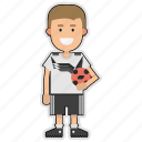 cup, football, germany, player, soccer, sticker, world icon