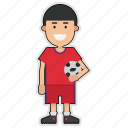 cup, football, korea, player, soccer, sticker, world icon