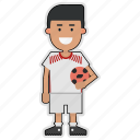 cup, football, player, soccer, sticker, tunisia, world icon