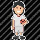 cup, football, iran, player, soccer, sticker, world