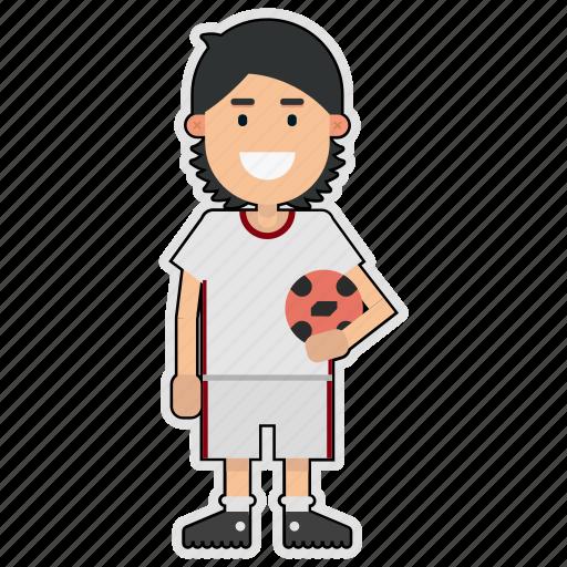 cup, football, iran, player, soccer, sticker, world icon
